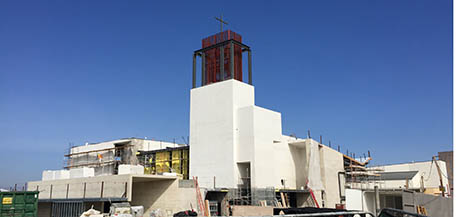 New Church under construction