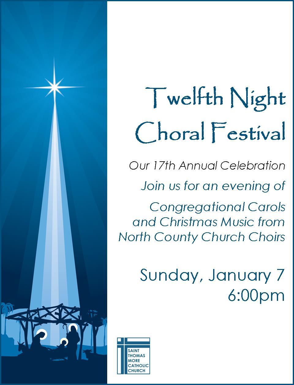 Twelfth Night Choral Festival