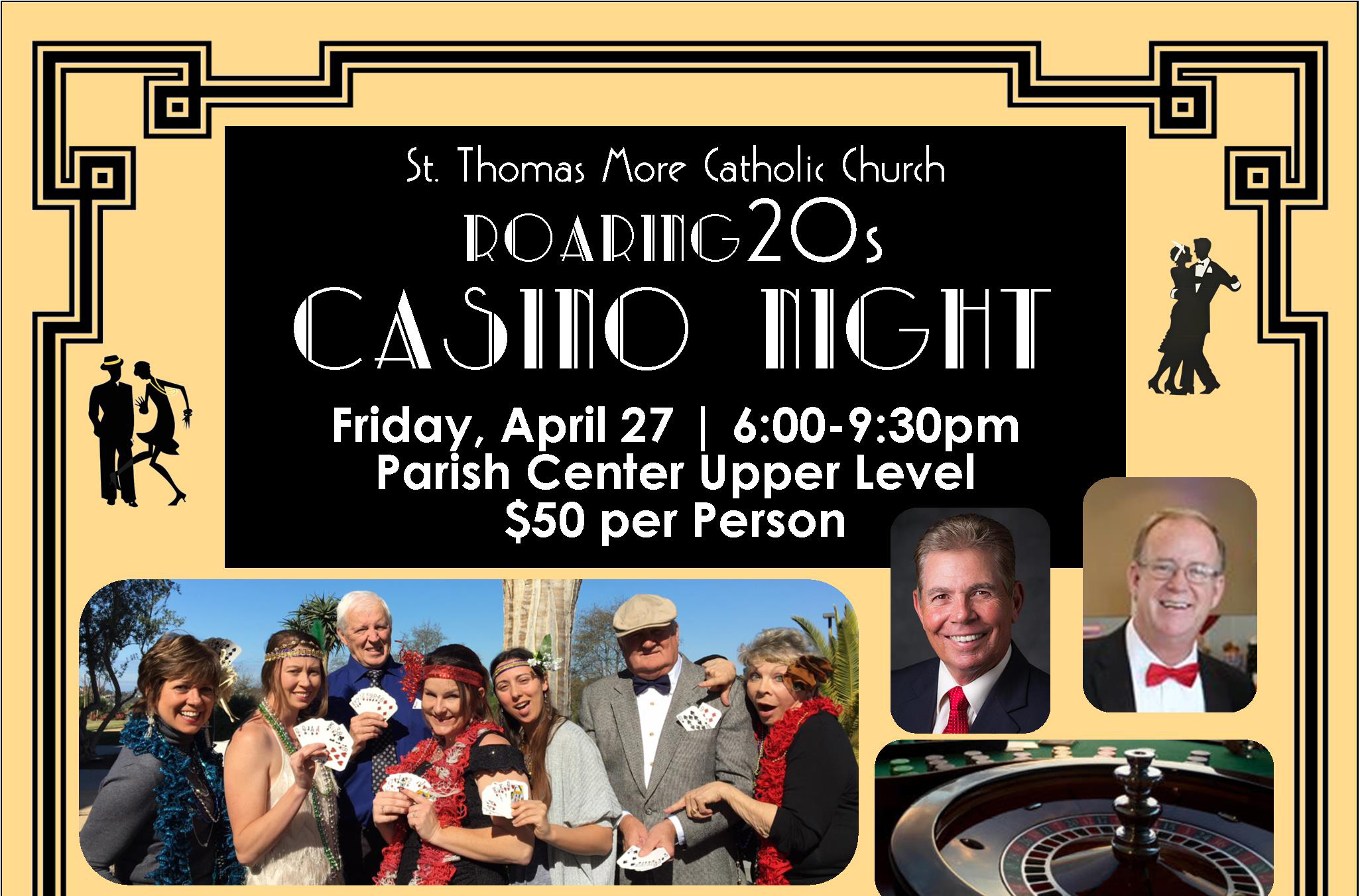 Roaring 20s Casino Night
