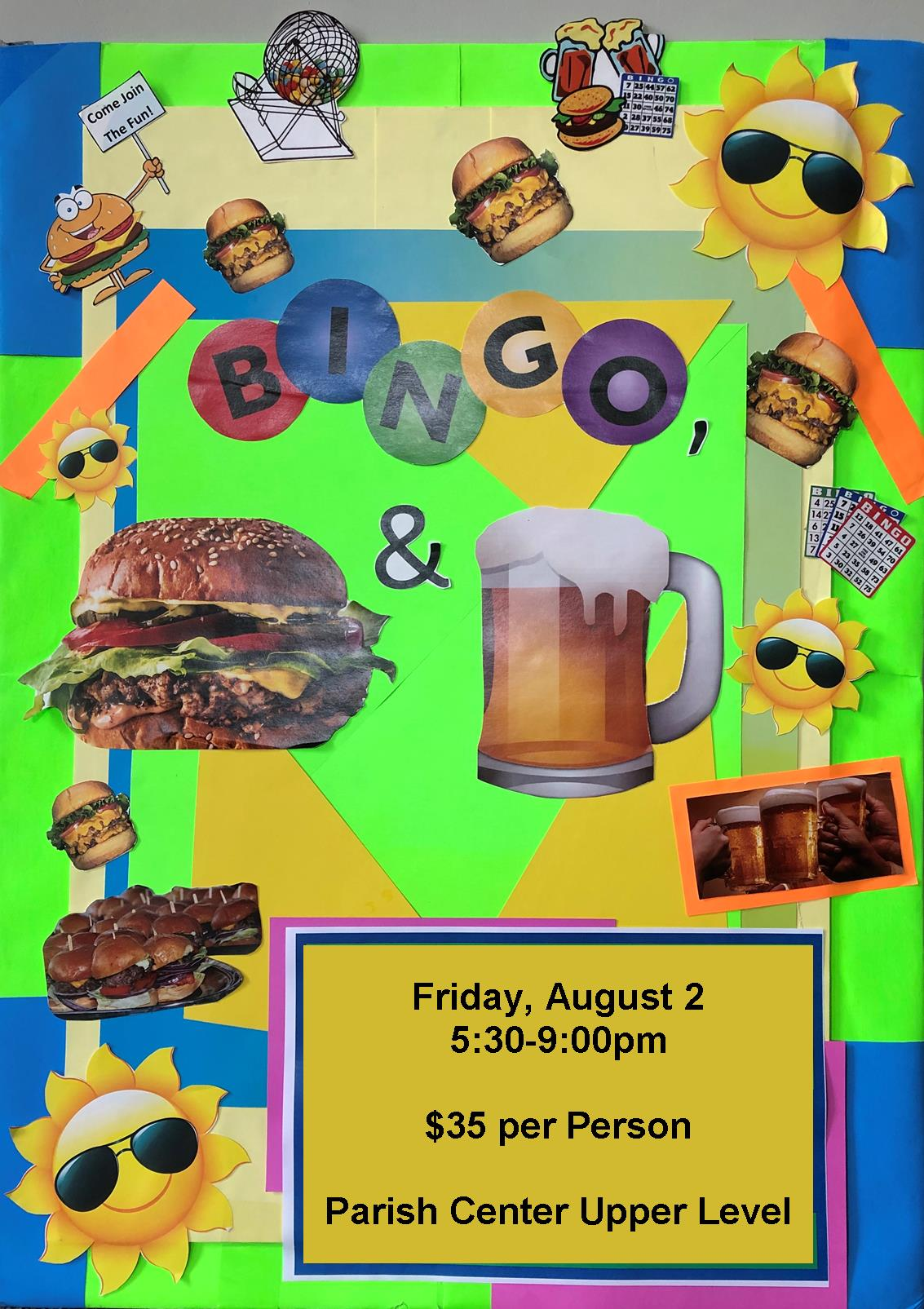 Bingo, Burgers, and Beer!