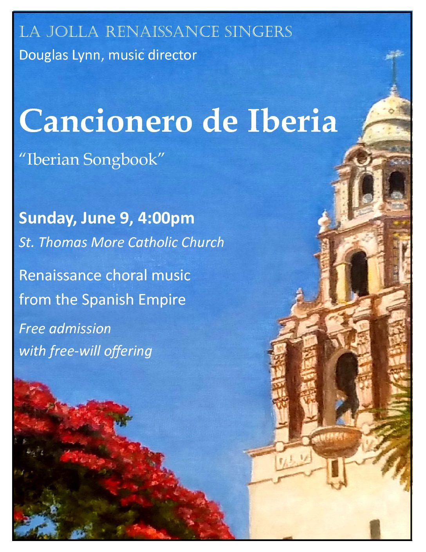 La Jolla Renaissance Singers in Concert