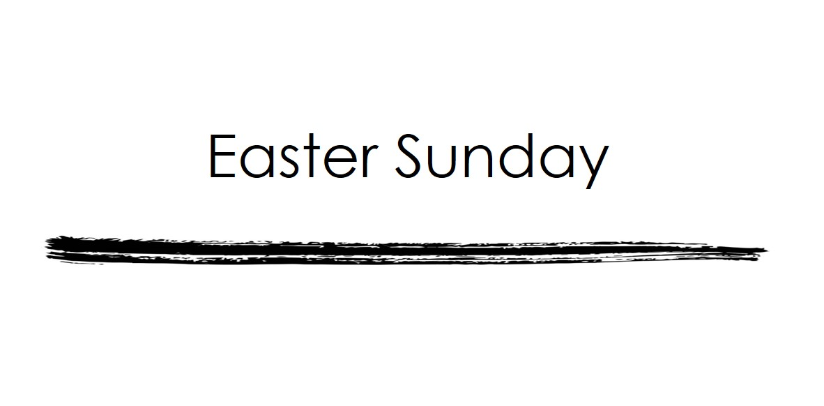 ONLINE ONLY--Easter Sunday