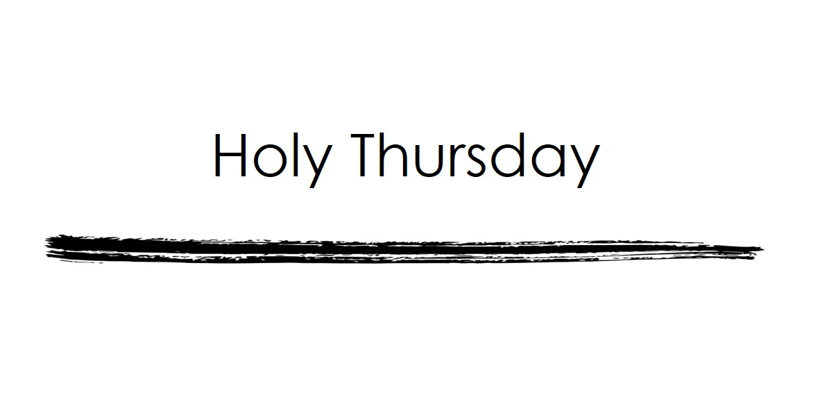 ONLINE ONLY--Triduum: Holy Thursday Mass of the Lord's Supper