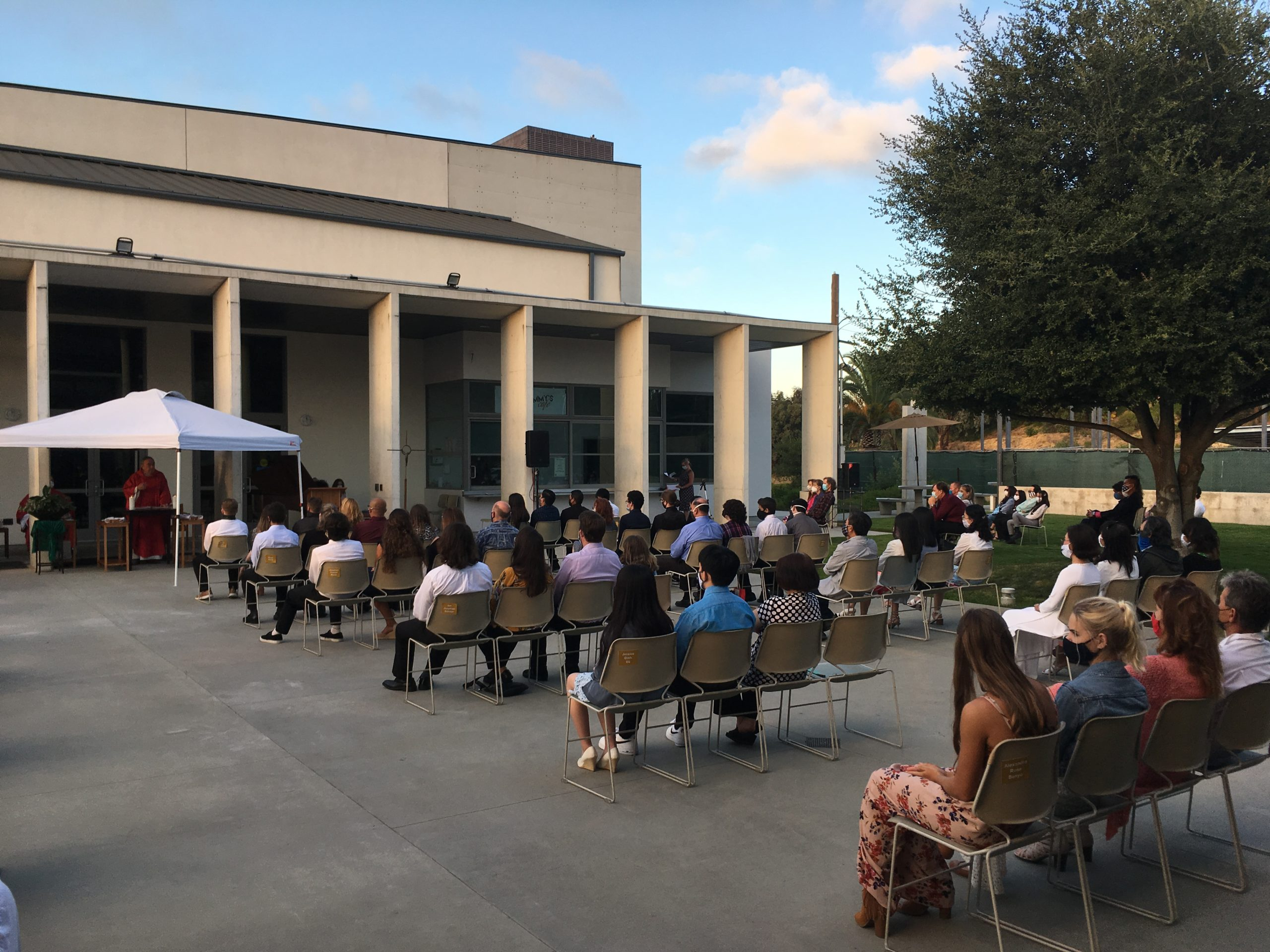 Daily Mass on the Plaza, Tuesdays, 8:15am