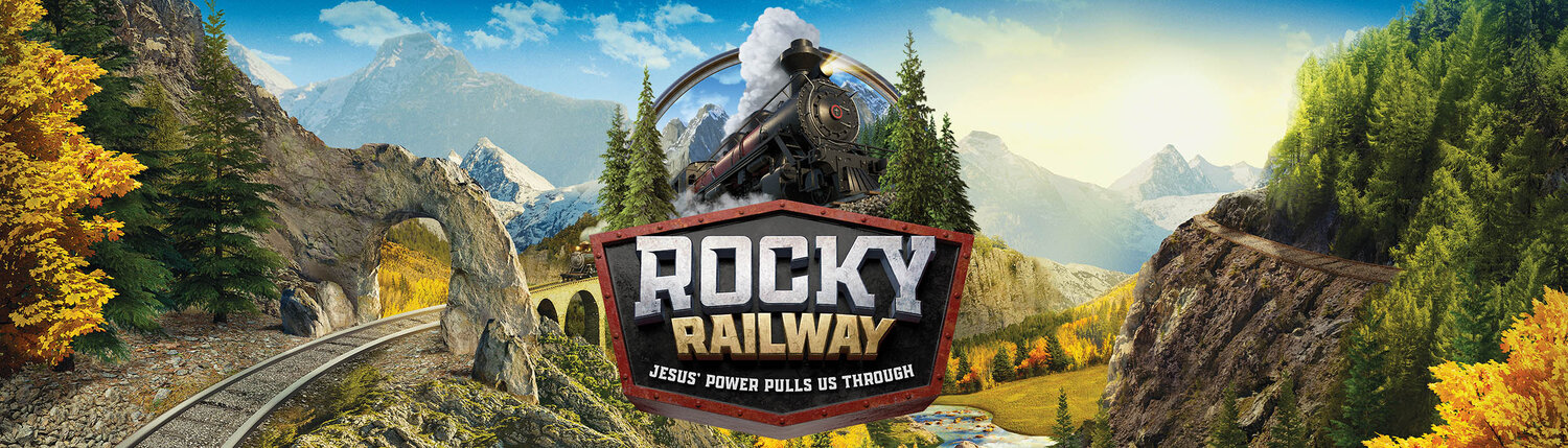 Photos from Virtual VBS Rocky Railway