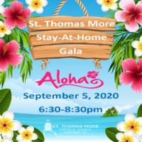 Stay-at-Home Gala on September 5, 6:30-8:30pm