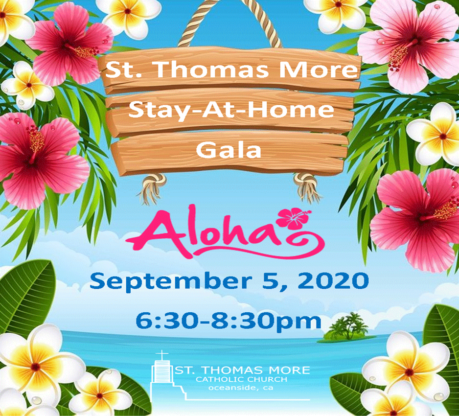 Stay-At-Home Gala: Luau