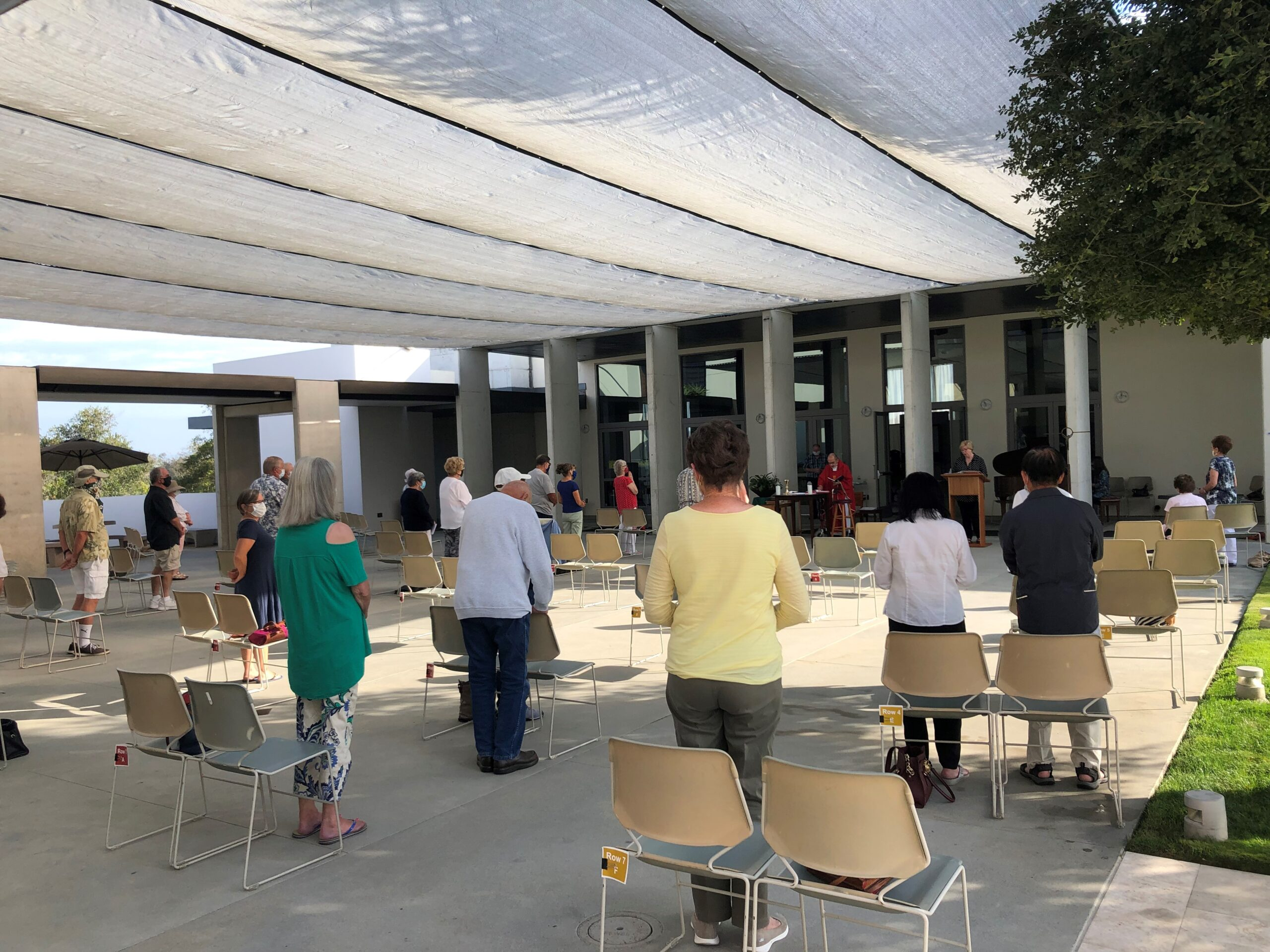 Daily Mass on the Plaza at 9:30am and Livestream