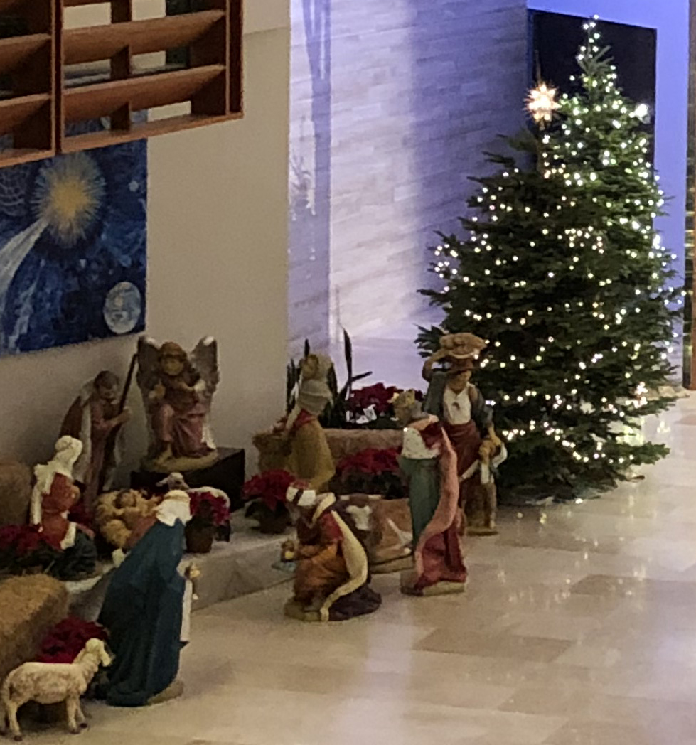 Christmas Day Masses on the Plaza at 8:30am and 10:30am