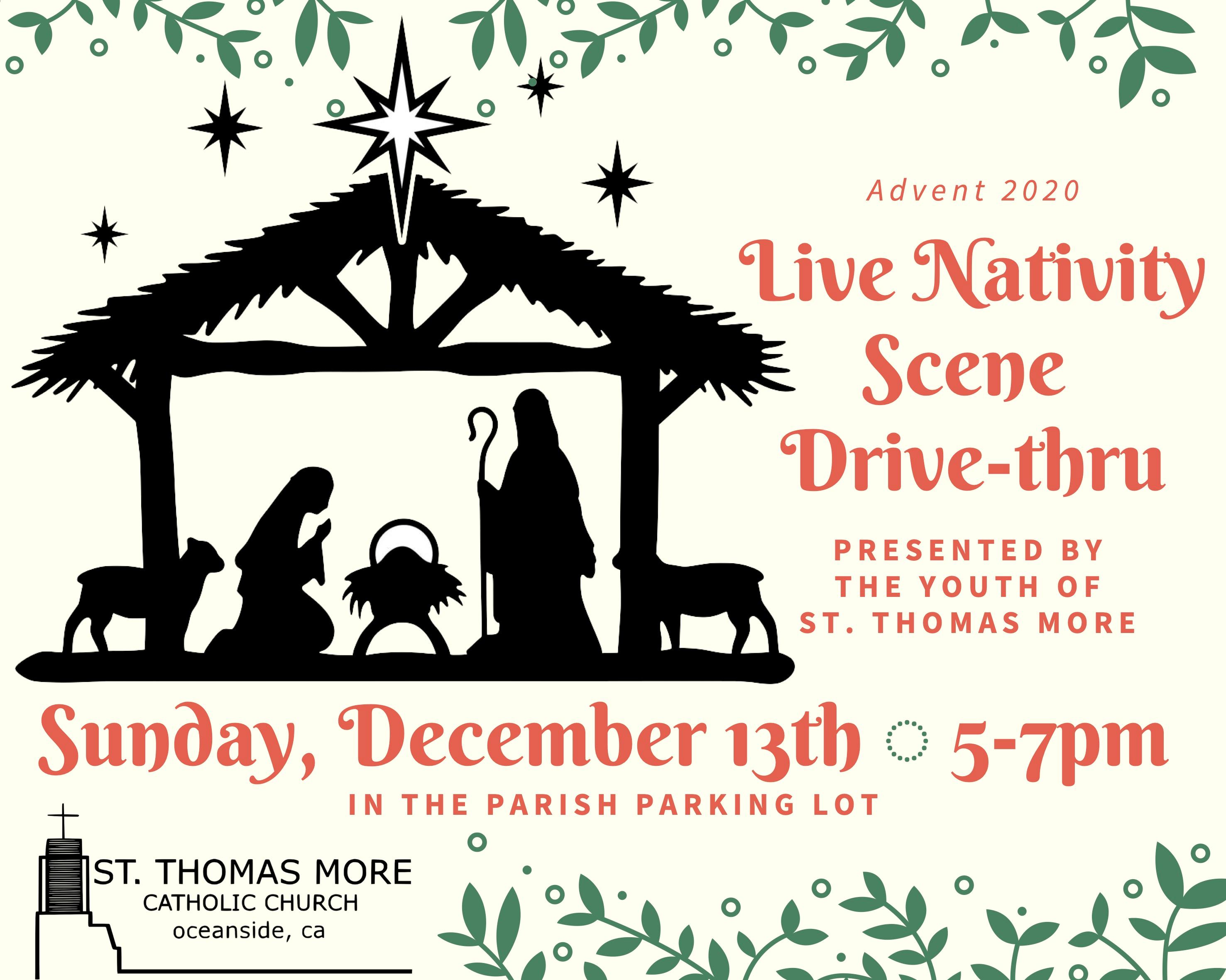 Live Nativity Drive-Thru