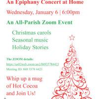 Epiphany Concert Recording