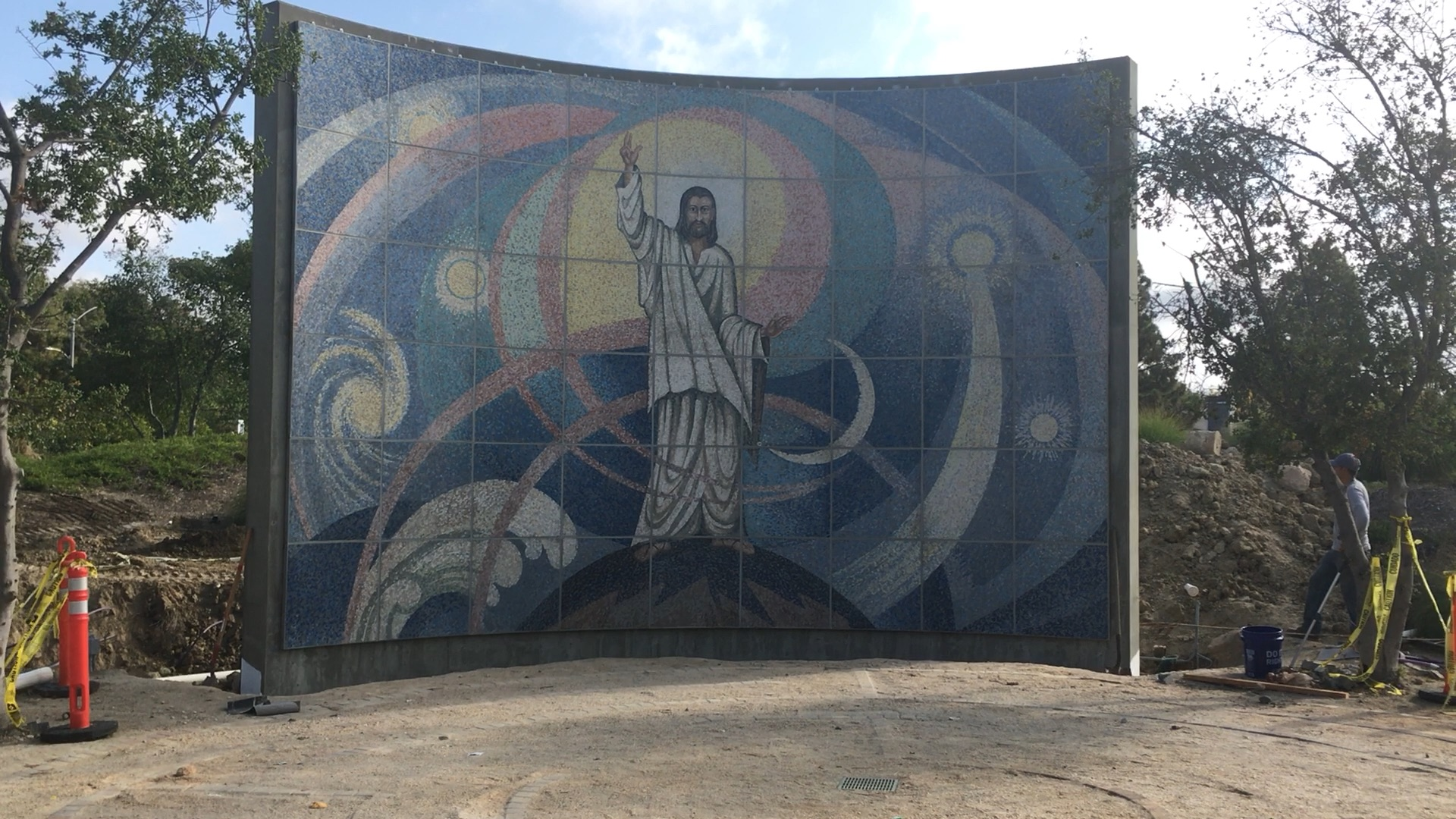 Video of the Dedication of the Mosaic